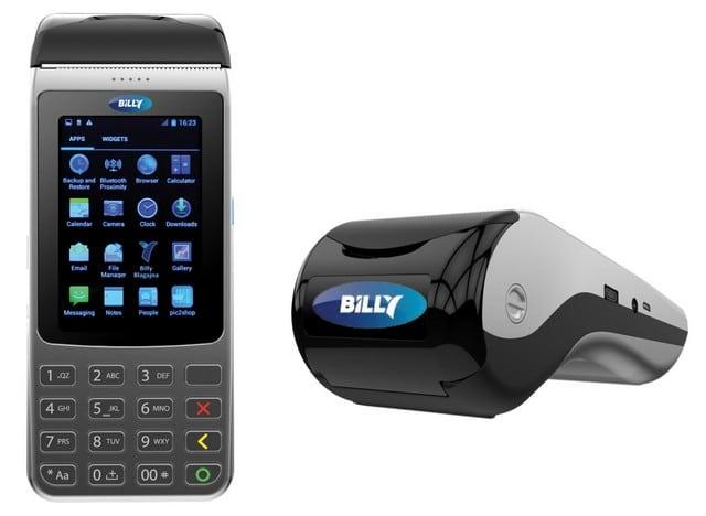 Billy Mobile - mobilna fiskalna blagajna