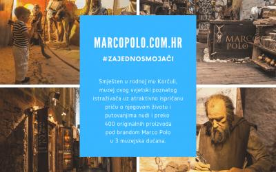 #zajednosmojači predstavljamo: Marco Polo Museum Korčula