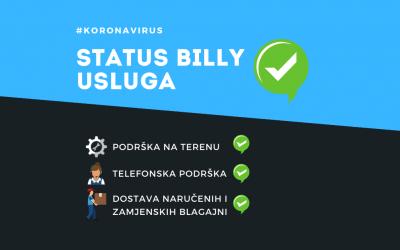 Kako je Billy prilagodio instalaciju, održavanje i servis fiskalnih blagajni u uvjetima pandemije koronavirusa